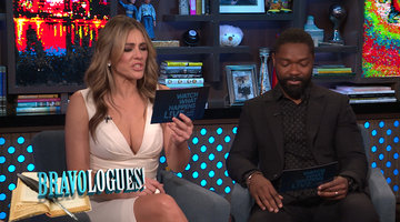 Elizabeth Hurley & David Oyelowo do Bravologues!