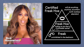 "What Is a ""Certified Freak Hoe""? Cynthia Bailey Reveals Where She Lands on the Scale"