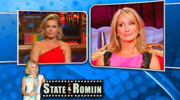 Rebecca Romijn Talks Housewives!