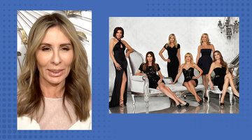 "Carole Radziwill Says Her First Season on RHONY Was a ""Shock"" to the System"