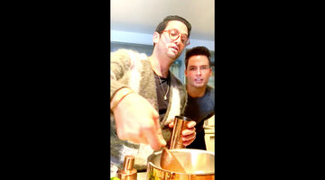 Josh Flagg and Husband Bobby's Recipe for Lychee Martinis