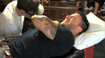 Jax Covers Up His Carmen Tattoo