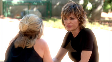 Lisa Rinna Confronts Eden Sassoon