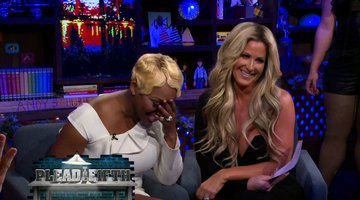 NeNe Plays Plead the Fifth with Kim!