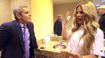 Andy Cohen Gets Real with Kim Zolciak-Biermann