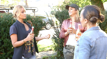 Gizelle Bryant, Robyn Dixon, and Ashley Darby Concoct the Grand Dame Pizza Delivery Plan