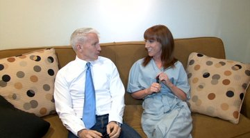 Kathy and Anderson Cooper