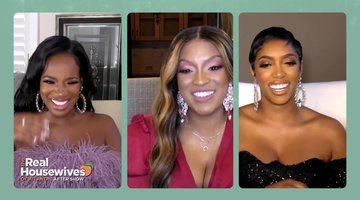 The RHOA Ladies React to Kenya Moore's Controversial Halloween Costume