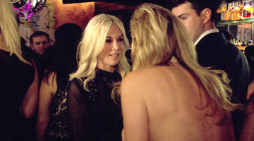 Tinsley Mortimer Makes a New Friend