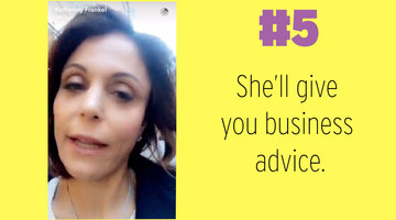 Bethenny Frankel's Best Moments from Snapchat
