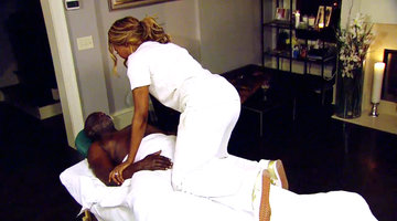 Cynthia Bailey's Awkward Massage Moment