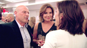 Bethenny and Tom Come Face to Face