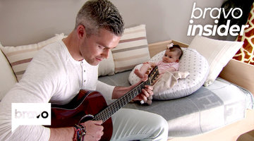 Ryan Serhant Performs a Sweet Original Tune for His Daughter Zena