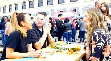 Graham Elliot and Alex Thomopoulos Taste the Rage of Smorgasburg LA