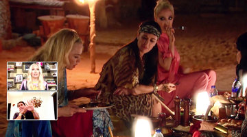Reza Farahan and Erika Jayne Have a Hard Time Rewatching This Camel Meat Moment