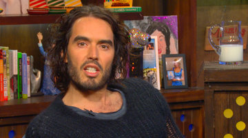 Russell Brand Lends the Queen a Hand