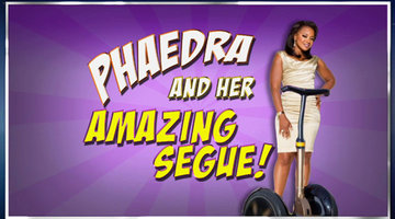 Phaedra Parks' Amazing Segue