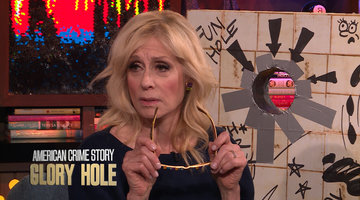 Judith Light & Finn Wittrock Play American Horror Story: Glory Hole