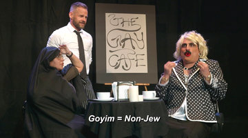 "Watch Reza's Persian Mother Parody Play, ""Eez Not Right"""