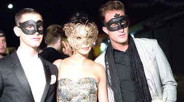 A Behind the Scenes Look at Scheana's Lavish Masquerade Party