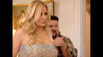 Chris March Fondles Jennifer Coolidge
