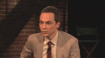 Jim Parsons in a Broom Closet with Kelsey Grammer