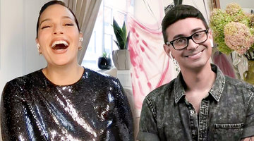 "Ashley Graham Describes When She and Christian Siriano ""Fell In Love"""