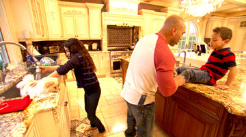 Joe Gorga Plays Mr. Mom