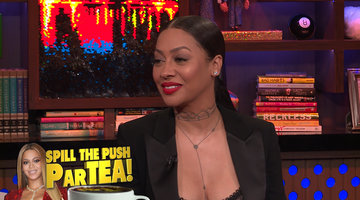 La La Anthony Dishes on Beyonce's Push Party