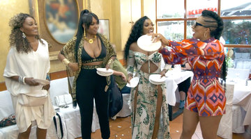 The Real Housewives Atlanta Are Throwing Plates!