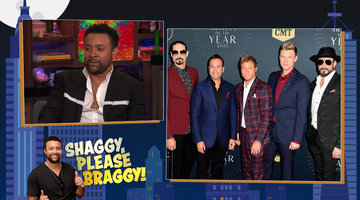 Shaggy Dishes on the Backstreet Boys' Crazy Parties