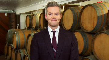 Ryan Serhant Gets a Little Tipsy While Wine Tasting