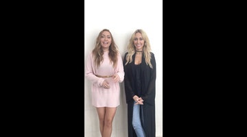 Brandi and Tish Cyrus Have a Special Message for Bravo Fans