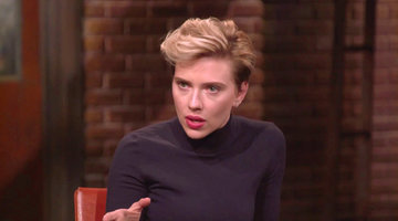 Scarlett Johansson on Working with Robert Redford