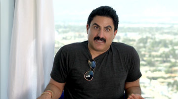 Reza Farahan Explains Why He Won't Eat an Emu Egg