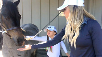Teddi Mellencamp Arroyave and Her Daughter Introduce Us to Their Horse