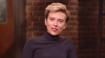 Scarlett Johansson Reveals What Woody Allen Likes to Discuss