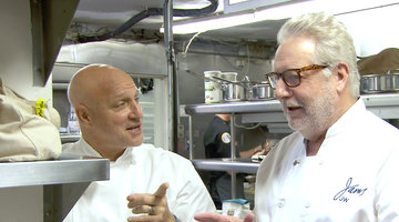 The Chefs Try Not to Embarrass Themselves in Front of Jonathan Waxman