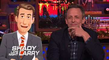 Shady Late Night Questions for Seth Meyers