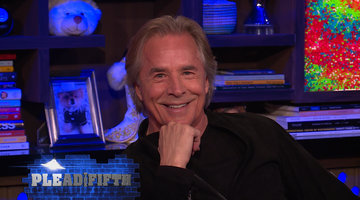 Don Johnson Plays Plead the Fifth!