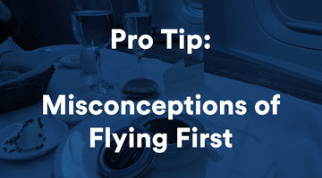 Misconceptions About Flying First Class