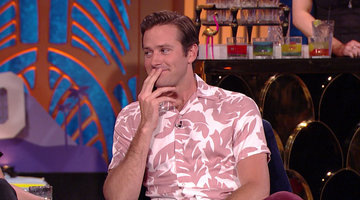 Armie Hammer's On-Screen Kiss with Leonardo DiCaprio