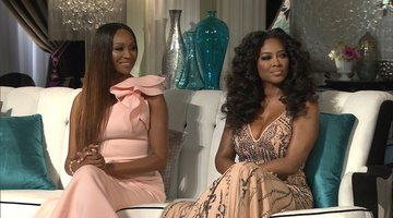Kenya Moore Wants Kim Zolciak-Biermann Back on #RHOA?