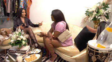 Marlo Hampton Tells Kenya Moore That LaToya Ali Spilled ALL of Her Tea!