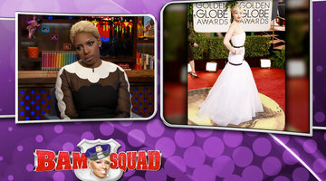 NeNe Throws Some Golden Globes Shade!