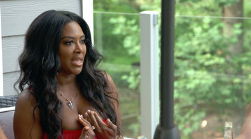"Kenya Moore Tells Eva Marcille: ""You Don't Want a Problem with Me"""