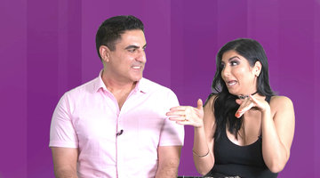 Reza Farahan and Destiney Rose Tease the Shahs of Sunset Season 7 Reunion