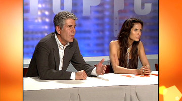 Most Tense Judges' Table Moments: Bourdain vs Howie