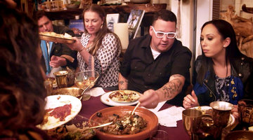 Cheryl Burke and Graham Elliot Uncover a Secret Moroccan Supper Club