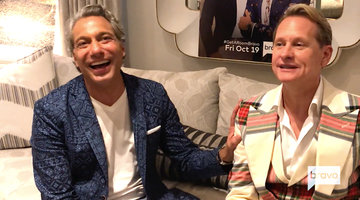 Carson Kressley and Thom Filicia's Holiday Decorating Tips